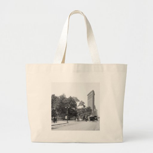 Flatiron from 5th, NYC: 1906 Canvas Bag