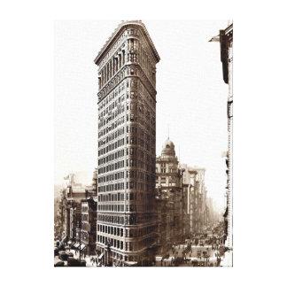 Flatiron que construye 1910 lona estirada galerias