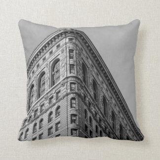 Flatiron que construye la foto de New York City Cojín