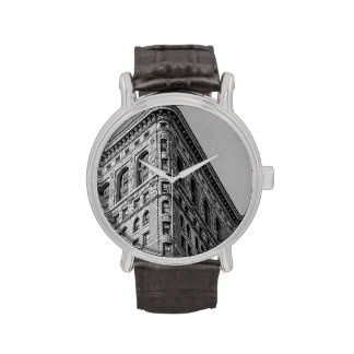 Flatiron que construye la foto de New York City Reloj De Mano