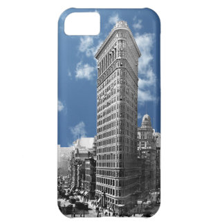 Flatiron que construye Manhattan 1910 Funda Para iPhone 5C