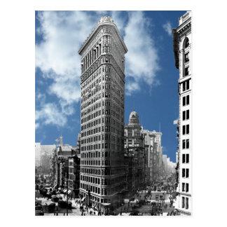 Flatiron que construye New York City Tarjetas Postales
