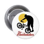 Flatlander BMX Pin