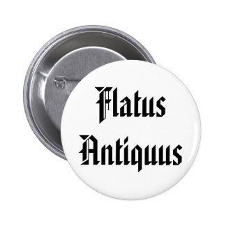 Flato Antiquus - viejo Fart en latín Pins