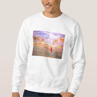 flats fly fishing girl sweatshirt