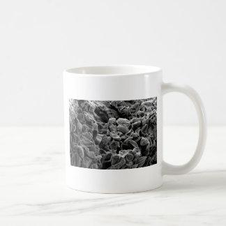 flatten dots texture coffee mug