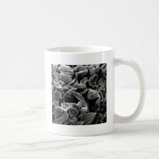 flattened cells capture coffee mug