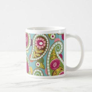 Flatter Paisley - Aqua - Mug