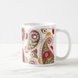 Flatter Paisley - Cream - Mug