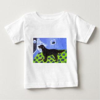Flattie senses smiling moon baby T-Shirt