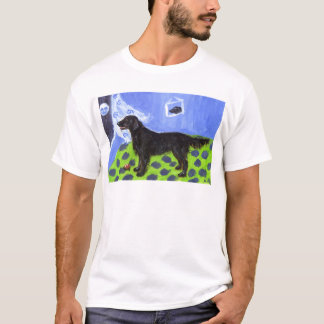 Flattie senses smiling moon T-Shirt