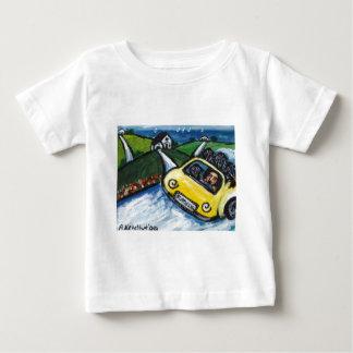 Flatties go for summer drive baby T-Shirt