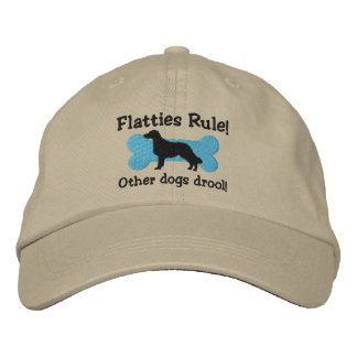 Flatties Rule Embroidered Hat