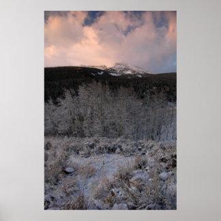 Flattop Mountain Poster