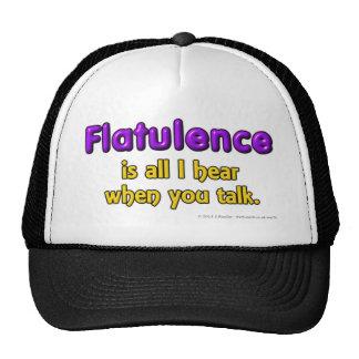 Flatulence is al I hear when you talk. Cap