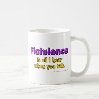 Flatulence is al I hear when you talk. Mug