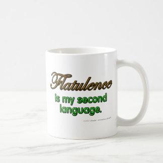 Flatulence is my second language. mugs