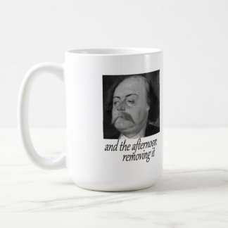 Flaubert: Comma In, Comma Out Classic White Coffee Mug