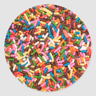 Flaunt your Sprinkles ! Classic Round Sticker