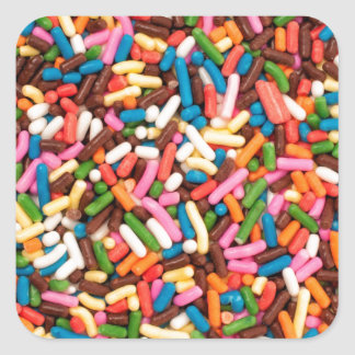 Flaunt your Sprinkles ! Square Sticker