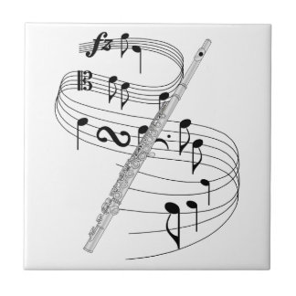 Flauta Tejas Ceramicas