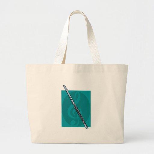 flauta bolsa tela grande