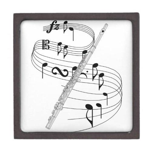 Flauta Caja De Recuerdo De Calidad