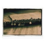flauta de flautín 1839 tarjetas postales