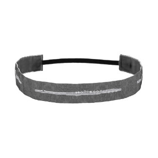 Flauta de plata en efecto negro del damasco bandas de cabello antideslizantes