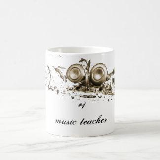 flauta del oro, profesor de música #1 taza clásica