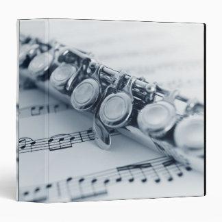 "Flauta detallada carpeta 1 1/2"""