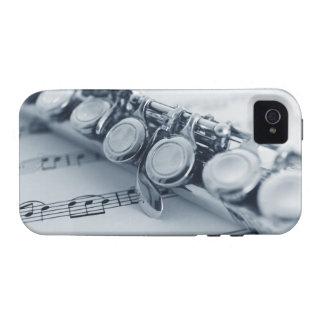 Flauta detallada iPhone 4/4S carcasa