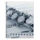 Flauta detallada libretas espirales