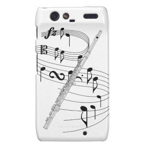 Flauta Droid RAZR Carcasas