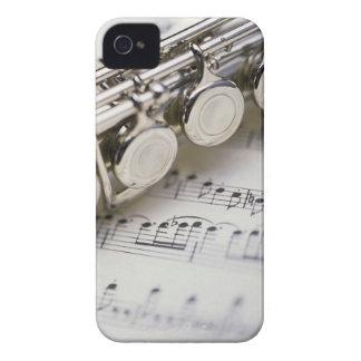 Flauta en partitura Case-Mate iPhone 4 funda