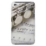 Flauta en partitura iPod Case-Mate cárcasas