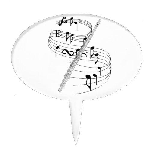 Flauta Figura De Tarta