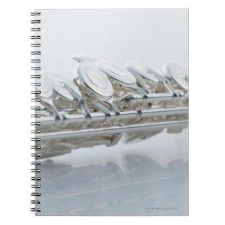 Flauta Libro De Apuntes Con Espiral