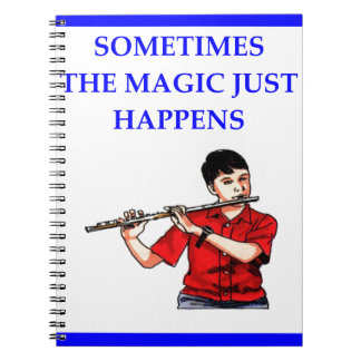 flauta libros de apuntes