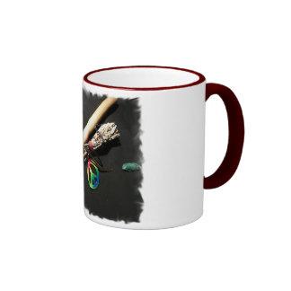 Flauta paz y sabio taza
