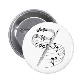 Flauta Pin Redondo De 2 Pulgadas