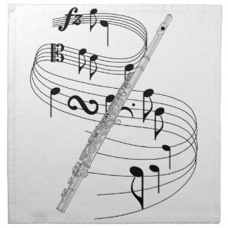 Flauta Servilleta Imprimida