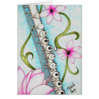 Flauta Tarjeta Pequeña