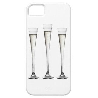 Flautas de champán iPhone 5 fundas