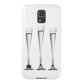 Flautas de champán funda para galaxy s5