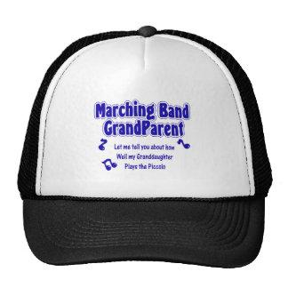 Flautín del abuelo de la banda gorras