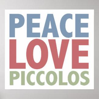Flautines del amor de la paz poster