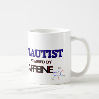 Flautist Powered by caffeine Coffee Mug