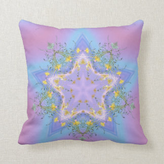 Flavescent  Star Pillow