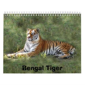 Flavio 016, Bengal Tiger Calendar